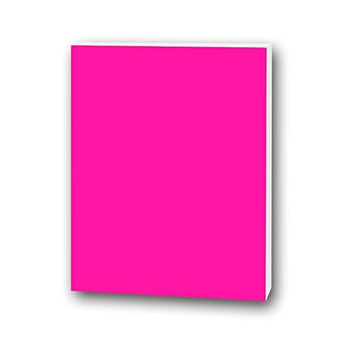 Flipside Foam Board, 3/16 by 20 by 30-Inch, Neon Pink, 10 Per Package