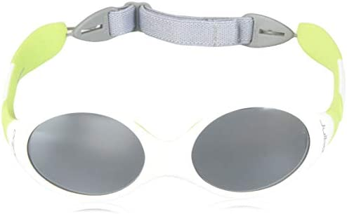 2-4 Years J349116CUS Julbo Spectron 4 Baby Lens Looping 3 Sunglasses White//Lime Green