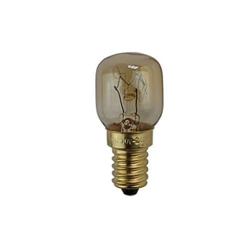 (WSDCN E14 T25 25W 220V~240V Oven Light Bulb Oven Lamp Heat Resistant Bulb 300'C)