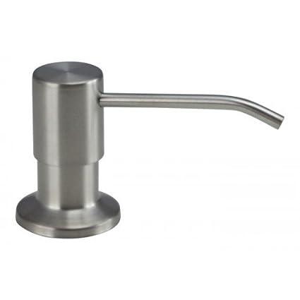 El dispensador de jabón es 100 % acero inoxidable Mizzo - 5 años de garantía -