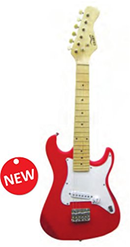 Volonte & Co Guitarra Eléctrica Maxine stv125r escala 500 mm color rojo