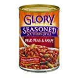 Glory Foods Seasoned Field Peas with Snaps, 15 Ounce - 12 per case.