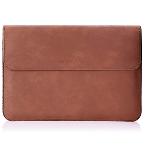 "MoKo 13.3"" PU Laptop Sleeve Case Cover for New MacBook Pro"