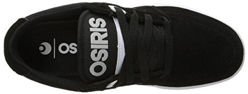 Osiris Männer Lumin Skate Schuh Schwarz / Weiß / Schwarz