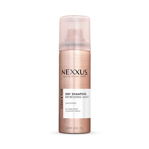 Nexxus Clean & Pure Unscented Dry Shampoo Travel Size 1.15 oz (2 Pack)