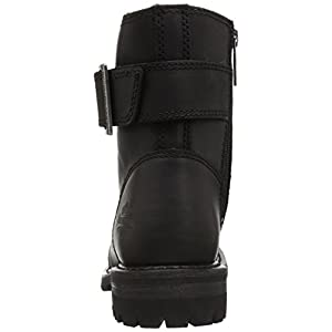 Harley-Davidson Women's SYLEWOOD Motorcycle Boot, Black, 7 Medium US