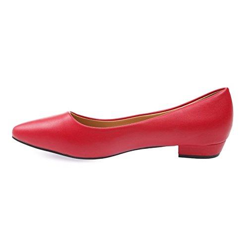 La Modeuse unidas-Bailarinas talla grande Rojo - rojo