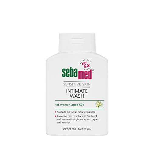 Sebamed Feminine Intimate Wash Menopause pH 6.8 Gentle Hydrating Vaginal Wash Feminine Hygiene Clinically Tested (200mL)