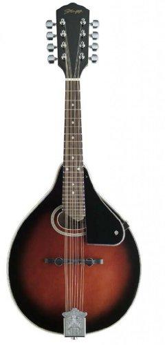 Stagg M-30 Bluegrass Mandolin with Spruce Top - Redburst by Stagg