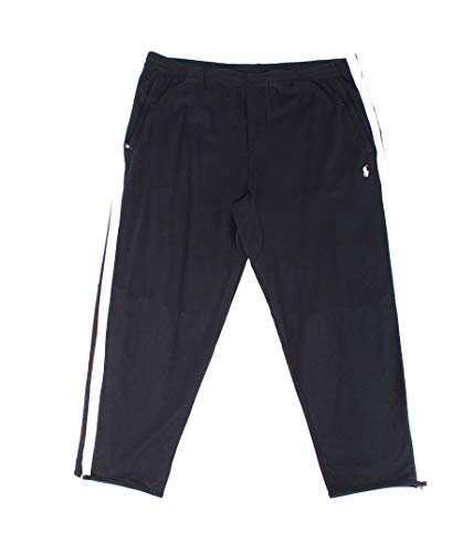 n Side Stripe Track Pants Black Big 2X ()