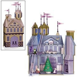 Castle Santas - Santa's Castle - Rudolph and The Island of Misfit Toys