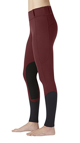 Kerrits Sit Tight Windpro Kneepatch Barn Red Size: Small