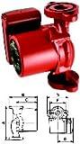 Grundfos 59896341 Single Phase Circulating Pump