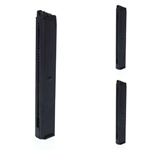 Airsoft Shooting Gear WELL 3pcs 32rd Mag Magazine for G11 Series GBB SMG Black by Airsoft Shopping Mall