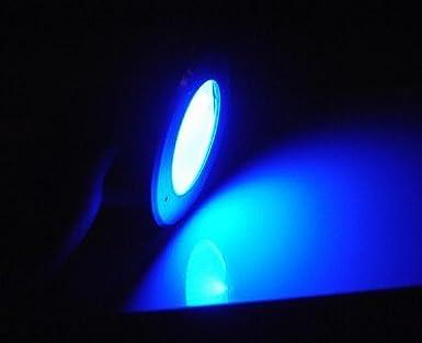 Lingsfire Spot Au Sol Lampe Solaire Led Lumiere Bleue Spot Au