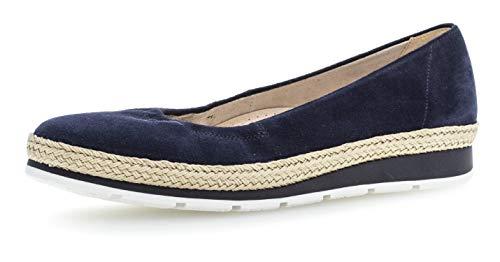 Clásicas mehrweite S comfort Planos 22 Verano De 400 Gabor jute oc zapatos Mujer zapatos clásicamente River w bailarinas Elegantes qIOHax