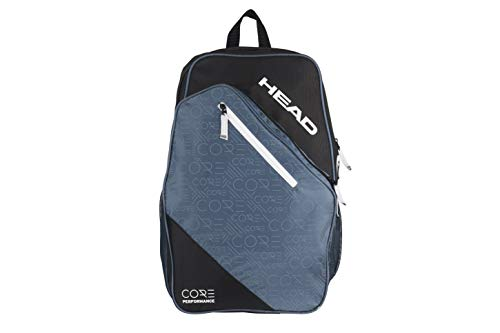 HEAD Core Tennis Backpack - 2 Racquet Carrying Bag w/ Padded Shoulder Straps
