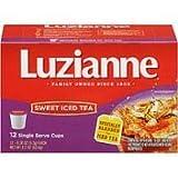 Luzianne Sweet Iced Tea K-Cups - 12 Single Serve Cups - Pack Of 2 by Luzianne