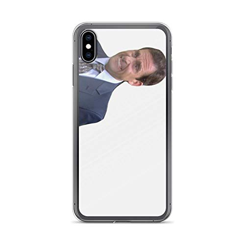 iPhone Xs Max Case Clear Anti-Scratch Michael Scott Cover Phone Cases for iPhone Xs Max, Crystal Clear -