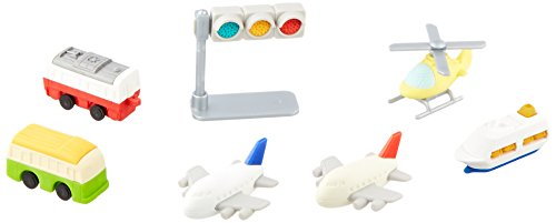 Motorized Airplane (Iwako Japanese Vehicle and Plane Eraser Set)