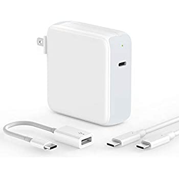Amazon.com: 87W/90W USB C Power Adapter, WEGWANG Type C ...