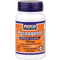 Pycnogenol, 100 mg, 60 vcaps by Now Foods (Pack of 3) by NOW Foods
