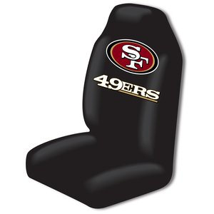 49ers truck seat cover set - 1