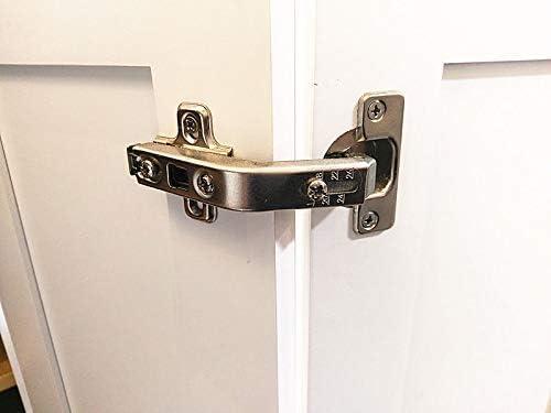 1 Piece Lazy Susan Hinge Face Frame Plate for Floded Door, Kitchen Cabinet  Corner Door Hinges Metal Lasy Susan Cabinet Corner Hardware Cabinet Door ...