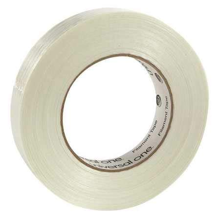 Filament Tape, 24mm x 54.8m, Clear, (Pack of 2)