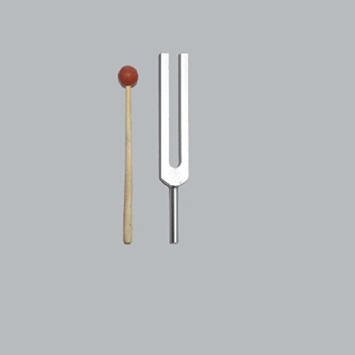 528 Hz Tuning Fork for Healing with mallet+