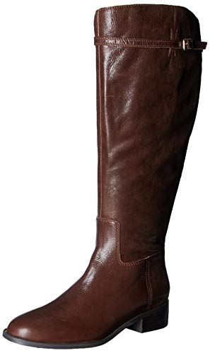 Franco Sarto Women's Belaire WC Equestrian Boot, Brown, 9 M US
