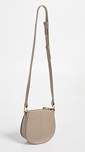 by Bag Chloe Small Saddle Grey Women's See Kriss Motty SYdAxqFSn5
