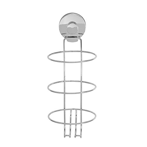 Everloc 99034 Chrome Xpressions Suction Cup Hair Dryer Holder