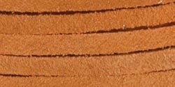 Tandy Leather Factory 1/8-Inch Wide Solid Suede Lace with 25-Yard Spool, Light Rust