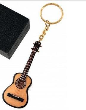 REGALOS LLUNA Llavero Miniatura Musical (Llavero Guitarra ESPAÑOLA ...