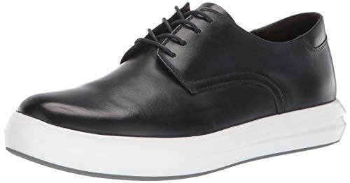 (Kenneth Cole New York Men's The Mover Lace Up Oxford, Navy Leather, 11 M US)