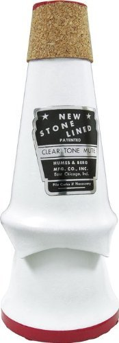Humes & Berg Stonelined Cleartone Trumpet Mute (103)