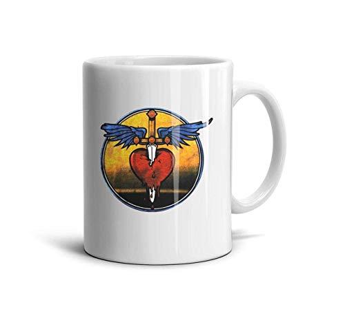 Bon-Jovi-These-Days- Classic Coffee Mugs 11oz Ceramic Tea Cups,I Heard a,One Size