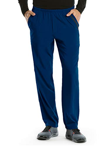 Barco One 0217 Men's Cargo Pant Indigo M (Half And Half Hair Color Top And Bottom)