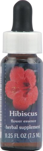 (Flower Essence Services Supplement Dropper, Hibiscus, 0.25 Ounce)