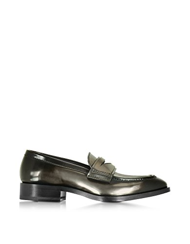 jil-sander-womens-js2703404216040-grey-black-leather-loafers