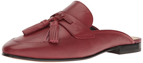 Sam Edelman Women's Paris Slip-On Loafer, Tango Red Leather, 9 M US