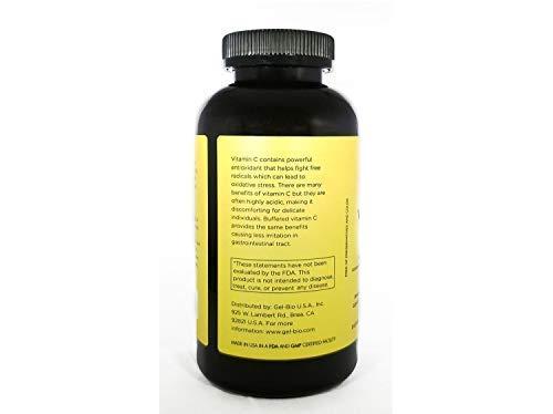 [Gel BIO] Mild Vitamin C 1500mg Kosher Certified Vitamin C + Calcium - 500 caps