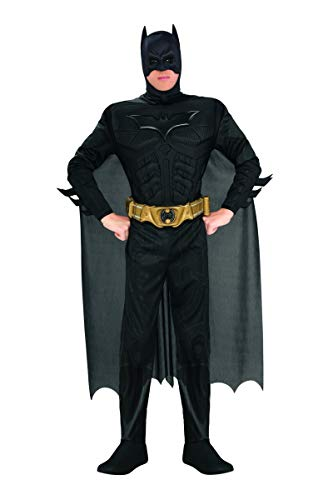 Rubie's Deluxe Muscle Chest Batman Adult Costume - -