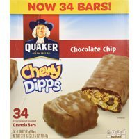 Quaker Chocolate Chip Chewy Dipps 1.09 oz. 34 count Thank you for using our service