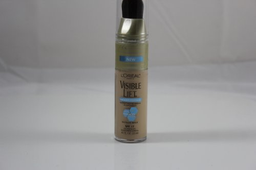 L Oreal Visible Lift Smooth Makeup, Absolute Nude Beige, 0.85 Fluid Ounce