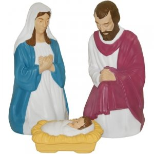 3 PC. TRADITIONAL NATIVITY SET