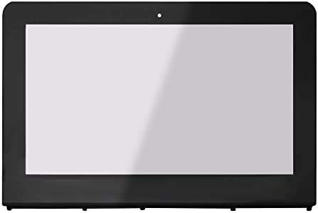 FTDLCD 11.6 Pantalla T/áctil Digitalizador con Marco Reparaci/ón de Computadora Frente de Vidrio para HP Stream x360 11-ab002ns