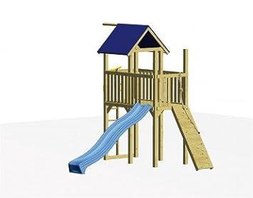 Winnetoo Klettergerüst Zubehör : Winnetoo spielturm set mit rutsche und klettersteg inkl aller