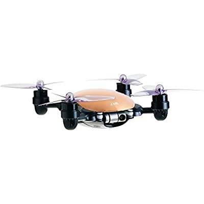 JME App Controlled Drone with 4K Camera 2 Axis Gimbal (Gold) and Remote Controller from j-me